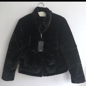 Zara faux fur jacket